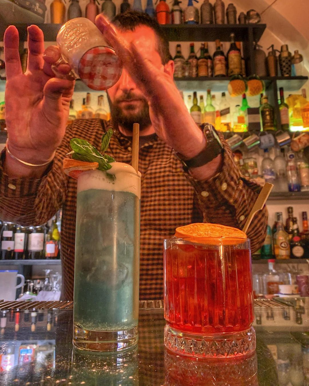Cocktail Barman Locale Palermo